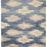 contemporary rugs Mandala-721-blue
