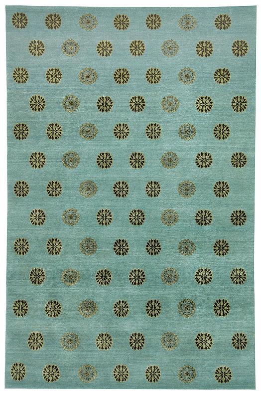 Thomas O'Brien CORSARO Ocean 882C by Safavieh, wool & silk