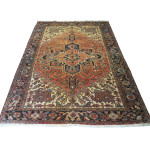 23670 Persian Heriz carpet 7,10x10,7
