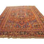 24389 Persian Heriz rug 9,2x12,1